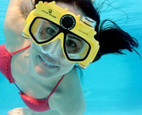 Video Swim Mask