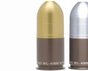 40mm Grenade Salt and Pepper Shakers